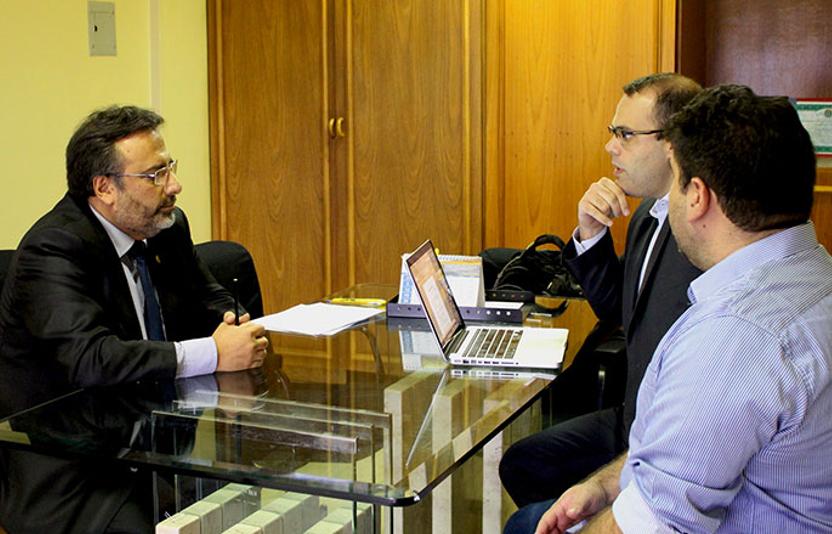 Reunião de apresentação da nova diretoria da Associação Brasileira de Fisioterapeutas Osteopatas no Coffito.