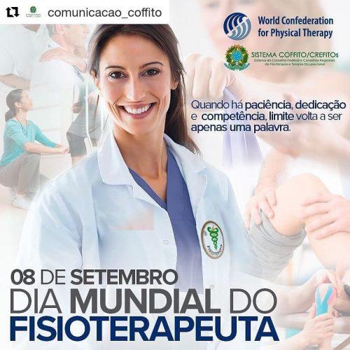 Dia mundial da Fisioterapia – 08 de setembro