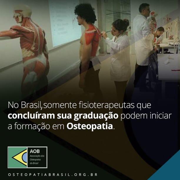 Aluno de graduação pode iniciar curso de Osteopatia?