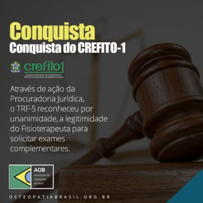 Conquista do CREFITO-1