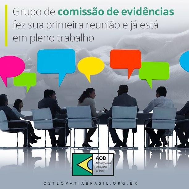 Primeira reunião da Comissão de Evidências Científicas
