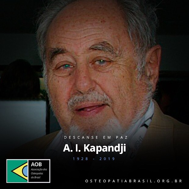 Descanse em paz, Dr. Kapandji