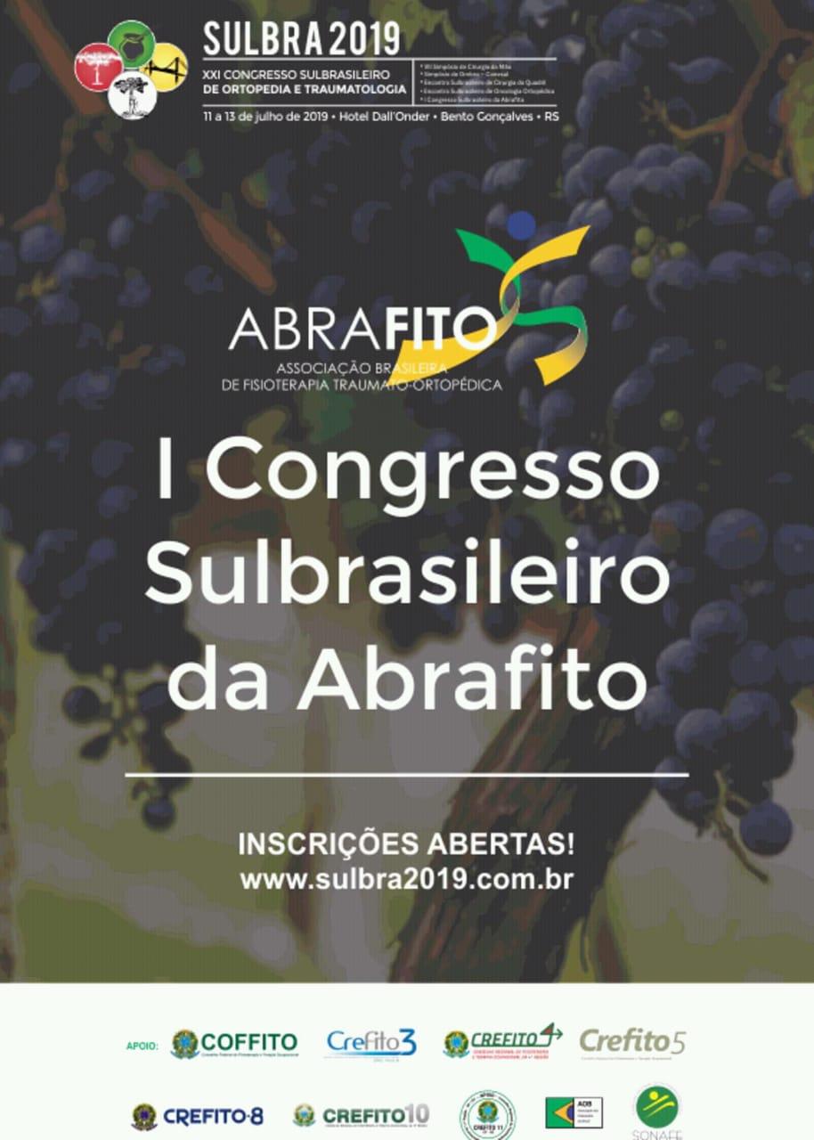 AOB no I Congresso Sulbrasileiro da ABRAFITO