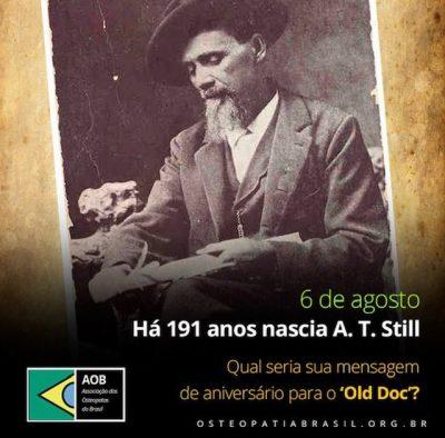Há 191 anos nascia A. T. Still!
