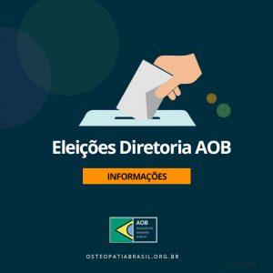 Eleições Diretoria AOB 2019