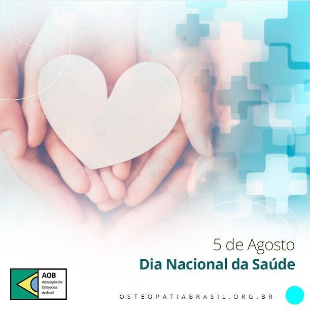 05 de agosto – Dia Nacional da Saúde