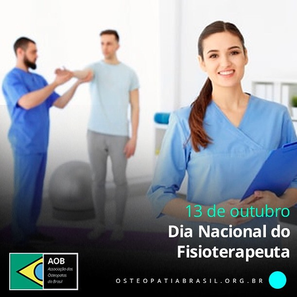 13 de outubro – Dia Nacional do Fisioterapeuta.