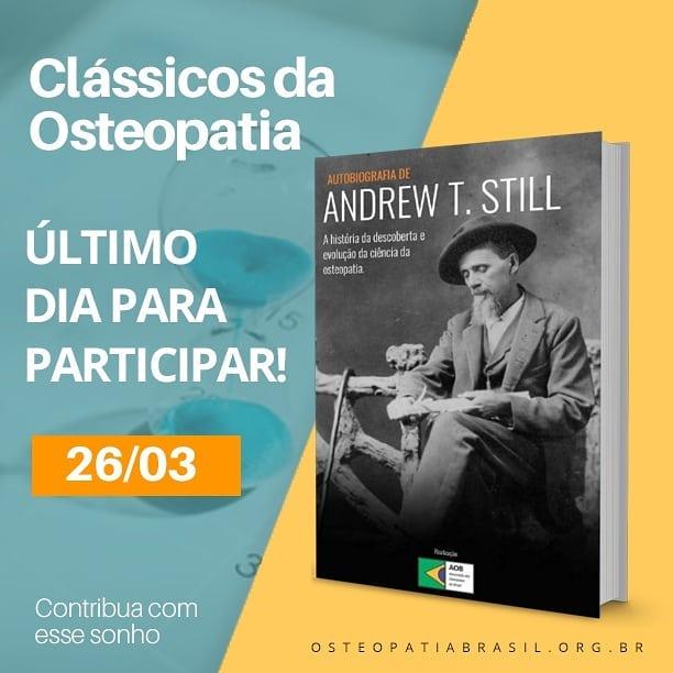 Projeto Clássicos da Osteopatia: É agora ou Nunca