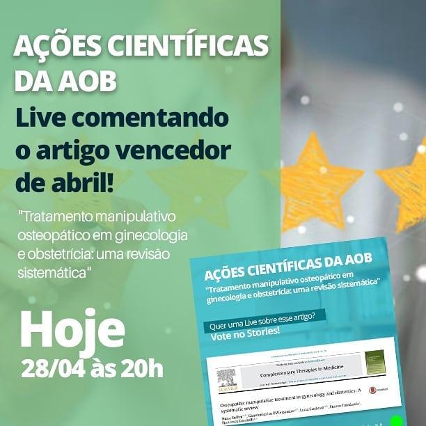 Live Científica da AOB